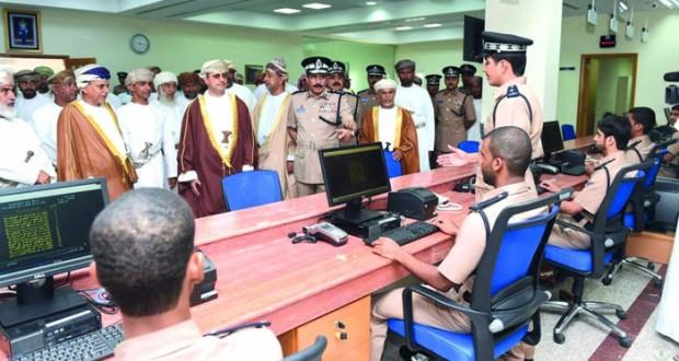 شرطة عمان السلطانية تحتفل بافتتاح مركز شرطة المضيبي