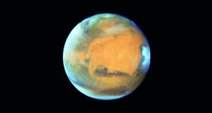 المريخ يدنو من الأرض لأقرب نقطة منذ عقد