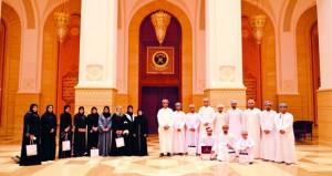 وفد من اللجنة الوطنية للشباب يزور مجلسي الدولة والشورى