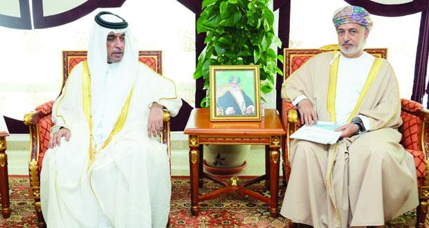 وزير التنمية الاجتماعية يلتقي رئيس الاتحاد العربي للمكفوفين