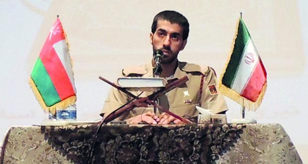 فريق من قوات السلطان المسلحة يشارك في مسابقة حفظ القرآن الكريم بإيران
