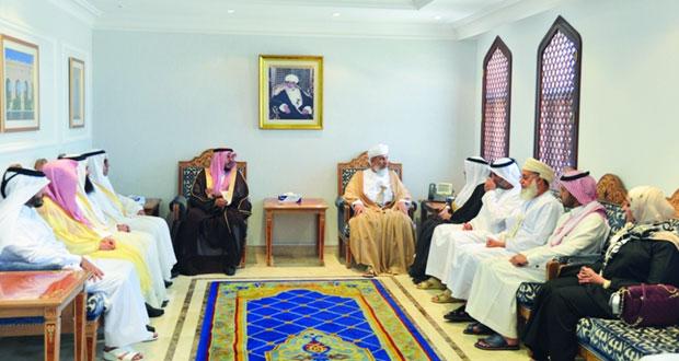 وزير الاوقاف والشؤون الدينية يستقبل مدراء عموم الأوقاف بدول المجلس