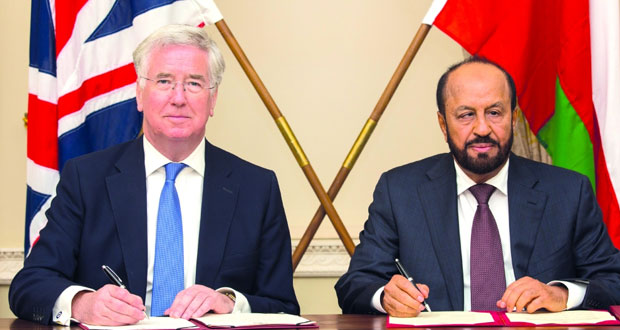 توقيع ملحق مذكرة تفاهم للتعاون الدفاعي مع بريطانيا