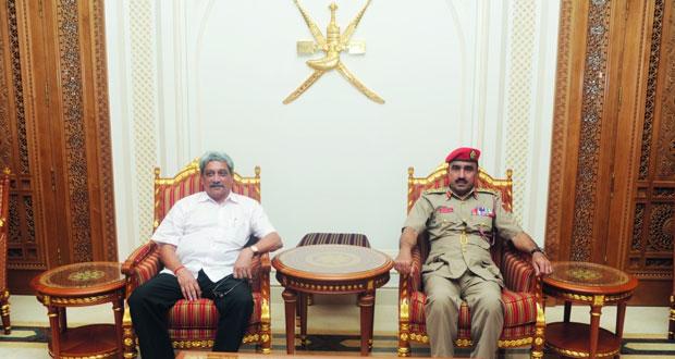 وزير الدفاع الهندي يغادر السلطنة