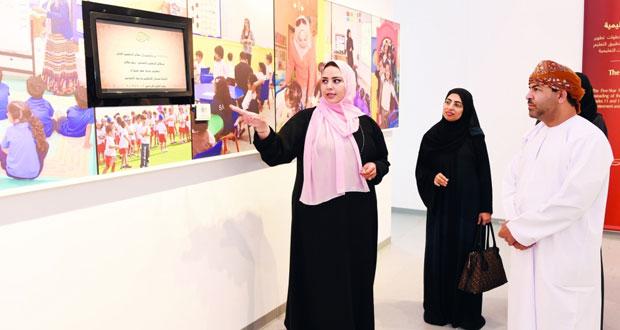 أمين عام مجلس التعليم يزور متحف المدرسة السعيدية