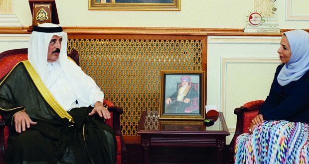 وزيرة التربية والتعليم تستقبل مرشح دولة قطر لليونسكو