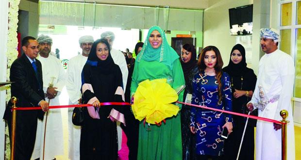 """افتتاح معرض """" عروس مسقط """" الثامن بمركز عمان الدولي للمعارض"""