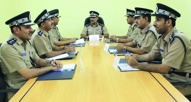 مجلس إدارة اتحاد الشرطة الرياضي يعقد اجتماعه الثاني لهذا العام 2016