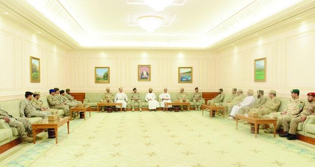 وفد من كلية القيادة والأركان الملكية السعودية يزور مجلسي الدولة والشورى