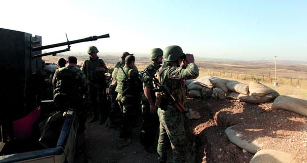 العراق: الأكراد يهاجمون محيط الموصل بمساعدة أميركية وداعش يهاجم هيت