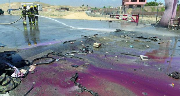 أفغانستان: قتلى وجرحى في هجوم انتحاري غرب كابول