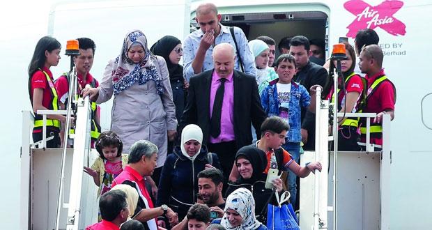 ماليزيا تستقبل 68 لاجئا سوريا