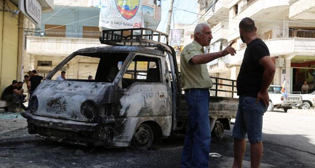 الجيش السوري يفرض سيطرته باتجاه جبل المزار .. وتسيير 56 شاحنة مساعدات إلى ريف دمشق