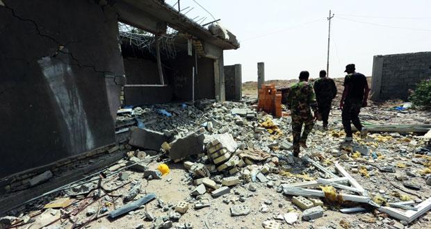 القوات العراقية تتقدم فـي معركة الفلوجة وتسيطر على 80%من قضاء الخالدية