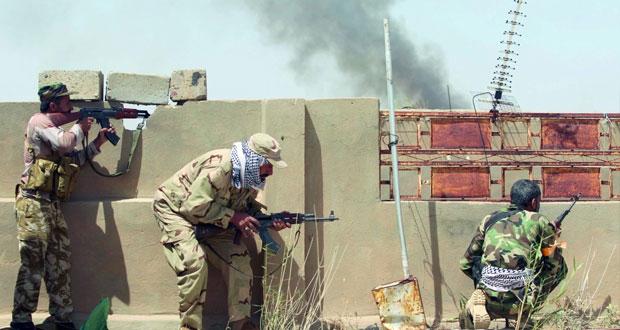 القوات العراقية تطلق عملية تحرير جزيرة الخالدية .. وتعزيزات عسكرية لدعم الفلوجة
