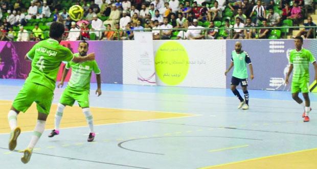 اسدال الستار على منافسات خماسيات كرة قدم الصالات