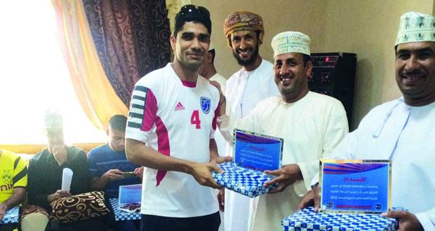 إدارة فريق أهلي الصبيخي تحتفل بتكريم فريقها بطل الدرجة الثانية بالسويق