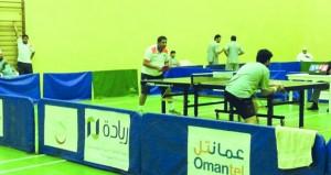 صحم ومسقط يكملان عقد المتأهلين لنهائيات درع وزارة الشؤون الرياضية لكرة الطاولة