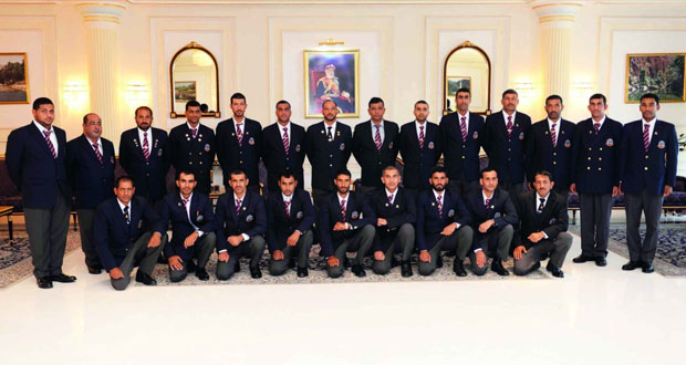 فريق قوات السلطان المسلحة للرماية يشارك في بطولة بيزلي
