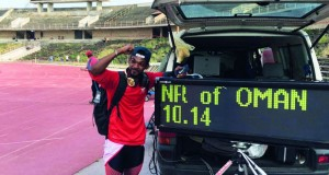 بركات الحارثي يحطم رقمه الشخصي والعماني ويحصل على ذهبية سباق بلغاريا