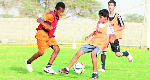 فريق السويق يحتضن ختام البرنامج التدريبي «لعيب» بتنظيم وإشراف الاتحاد العماني لكرة القدم