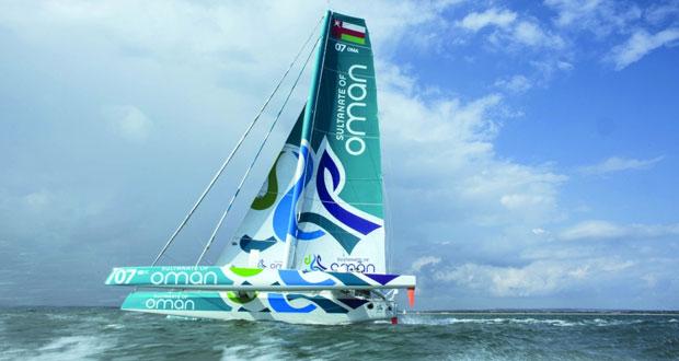 طاقم القارب مسندم يواصل تدريباته المكثفة استعدادا لخوض سباق حول جزيرة إيرلندا