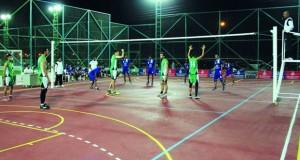 فريق الجبيل بعبري يحتفل بافتتاح منشآته الرياضية