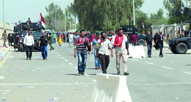 العراق أنصار الصدر ينهون (اعتصام الخضراء) ويعدون بالعودة