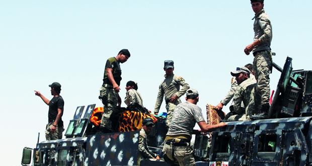 القوات العراقية تحتشد للفلوجة