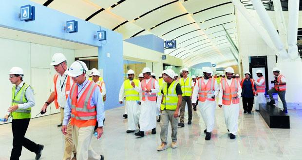مطار مسقط الدولي: خطط مستقبلية تتجه لرفع الطاقة الاستيعابية لـ48 مليون مسافر