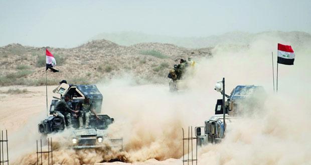 القوات العراقية تطهر قرى على مشارف الفلوجة وداعش يتخذ دروعا بشرية