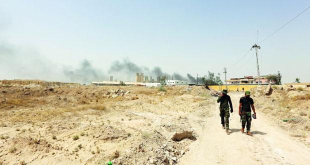 القوات العراقية على مشارف الفلوجة .. وتستعد لحرب شوارع