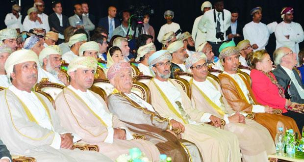 افتتاح مؤتمر ومعرض عمان للطاقة والمياه 2016 بمركز عمان الدولي للمعارض