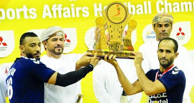 فريق يد مسقط يحسم لقب النسخة الخامسة وعمان وصيفا وأهلي سداب ثالثا