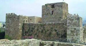 """أبراج قلعة """"شمع"""" في جنوب لبنان ترتفع من جديد"""