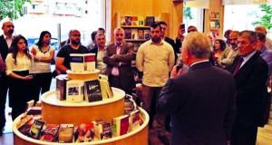 افتتاح مكتبة للكتاب العربي في بيروت