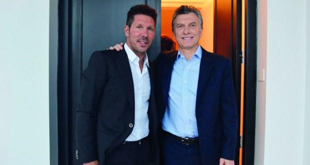 الرئيس الأرجنتيني يستقبل سيميوني بعد إنجازاته مع أتلتيكو مدريد