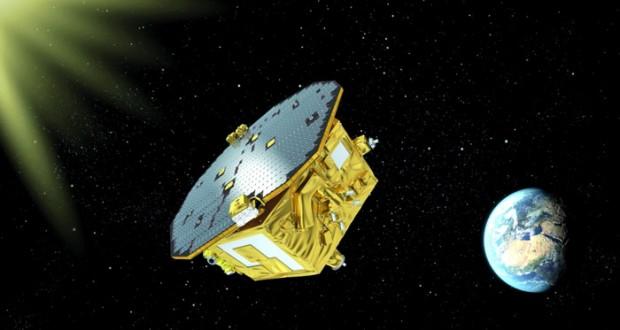 صورة حاسوبية لمهمة مركبة الفضاس ليزا باثفايندر