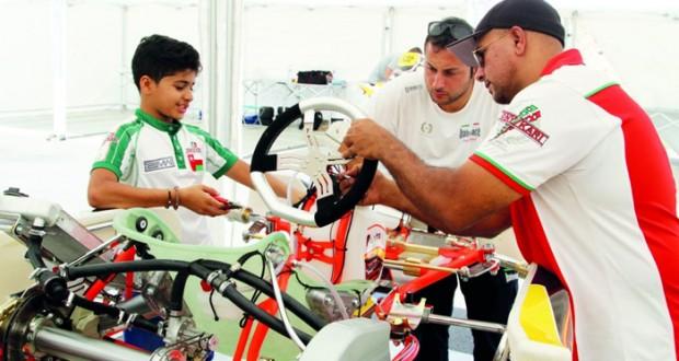 الحبسي جاهز للتجارب التأهيلية بسباق الاتحاد الدولي للكارتينج بالبرتغال