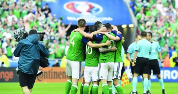 كأس أوروبا 2016: ايرلندا الشمالية تنعش آمالها بفوز تاريخي على أوكرانيا