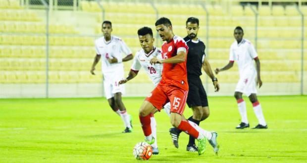 منتخبنا الأولمبي يكسب المنتخب البحريني وديا