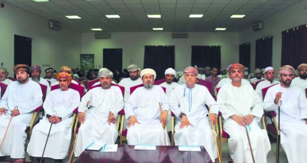 الأمين العام بمكتب الافتاء يكرّم الفائزين في مسابقة القرآن الكريم على مستوى ولاية السيب (الرابعة)