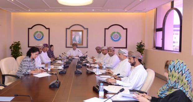 لجنة الأمن الغذائي بالغرفة تناقش موضوع رسوم الاراضي الزراعية