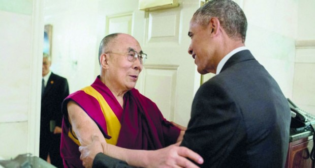 بكين غاضبة من لقاء أوباما مع الدالاي لاما