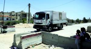 سوريا: تهدئة في داريا بريف دمشق وقوافل مساعدات تدخل المدينة