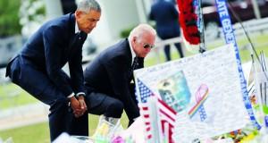 أوباما يجدد الدعوة لتشديد قوانين حيازة السلاح ويشير لـ«إرهابيبن نشأوا بأميركا»