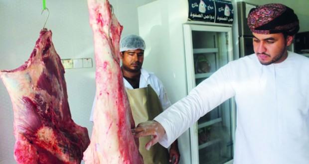حملات لمتابعة محلات بيع اللحوم والدواجن بالخابورة