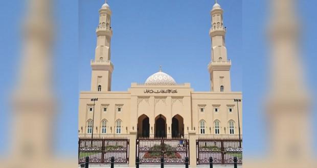 افتتاح جامع السلطان قابوس بولاية بُخا