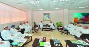 وزير الإعلام يستقبل أعضاء مجلس إدارة جمعية الصحفيين العمانية