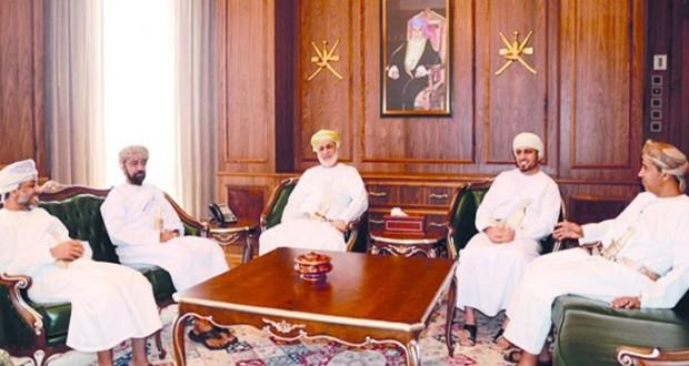 وزير العدل يستقبل رئيس اللجنة العمانية لحقوق الإنسان
